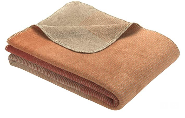 The Sofa Throw Company Toronto Orange/Brown Blanket/Throw 150x200cms -  for Sofas, Chairs and Beds