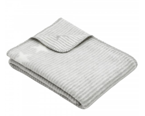 The Sofa Throw Company 100% Cotton Luxury  Baby Blanket Throws 75x100cms In choice of colours - Rosa, Cream, Blue and Green